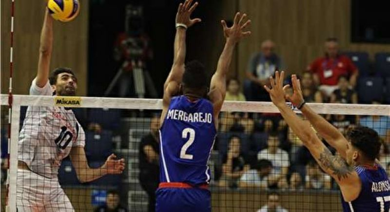 کوبا سومین قربانی والیبالیستهای ایران