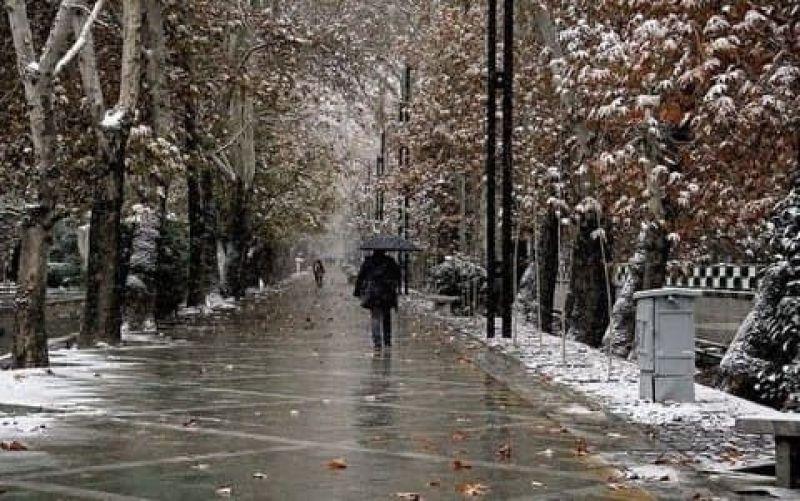 باران و برف و سرما مهمان کشور