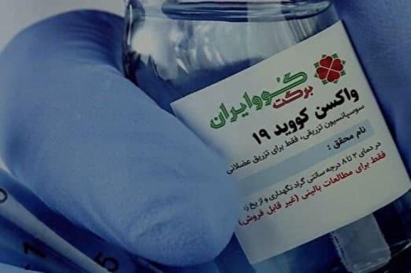ساخت واکسن «کوو ایران برکت» در گام آخر