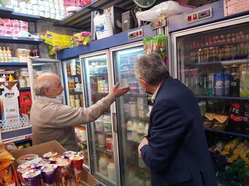 بررسی حضور محصولات پگاه در شهر تهران و پردیس