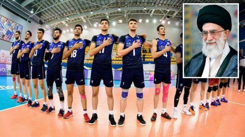 پیام رهبر انقلاب بمناسبت قهرمانی تیم والیبال جوانان ایران