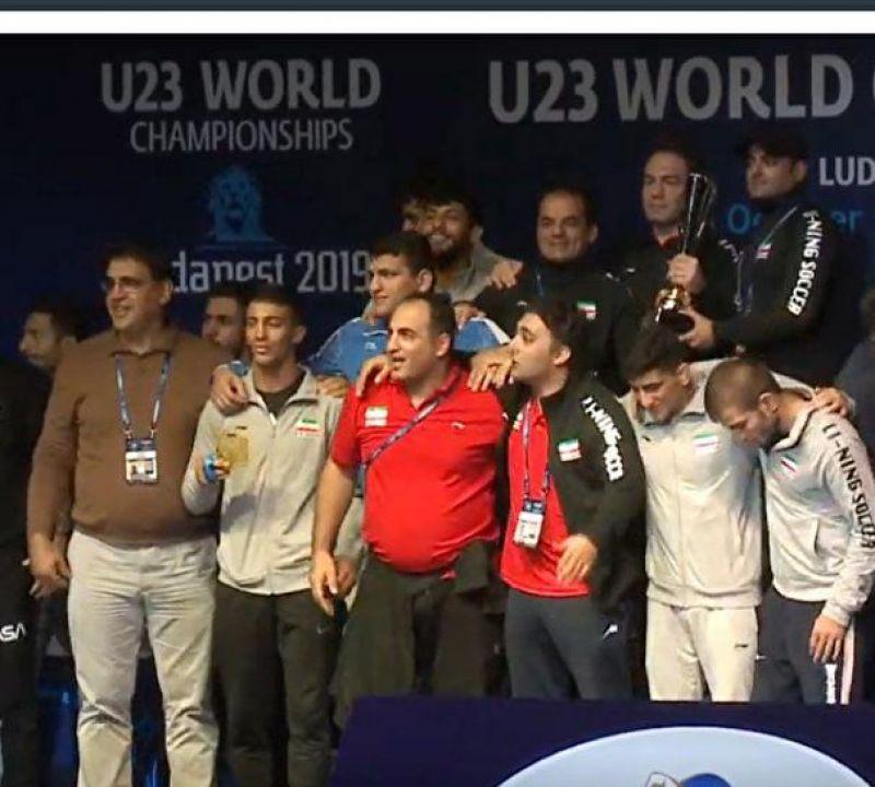 کشتی فرنگی ایران قهرمان جهان شد