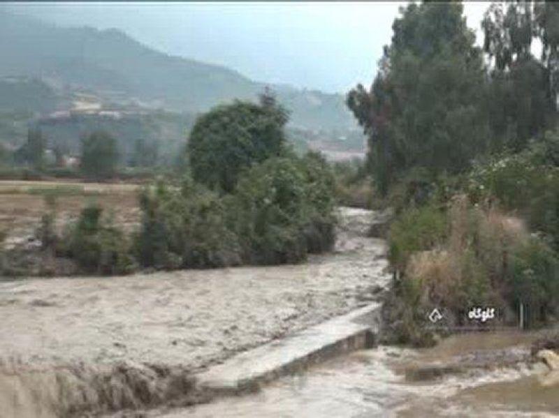بارش باران و سیلاب در نوار شمالی کشور