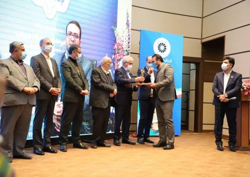 شیر خشک نوزاد پگاه، صادر کننده نمونه استانی