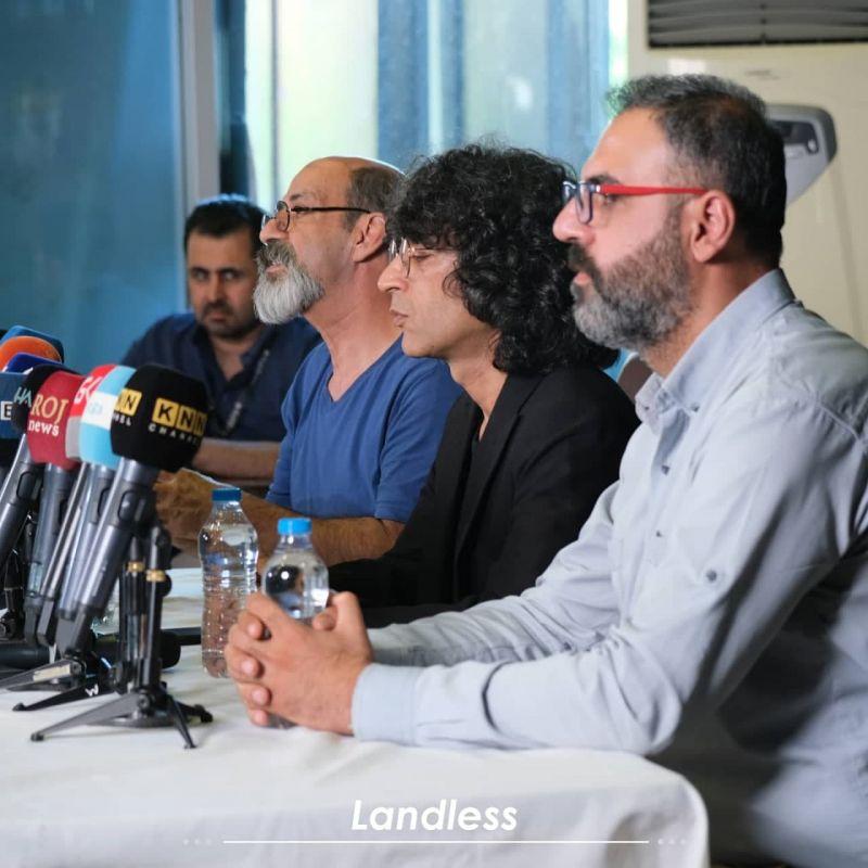 تورج اصلانی: داستان «بی سرزمین» در مورد زندگی، جنگ، موسیقی، پناهجویی و تولد است