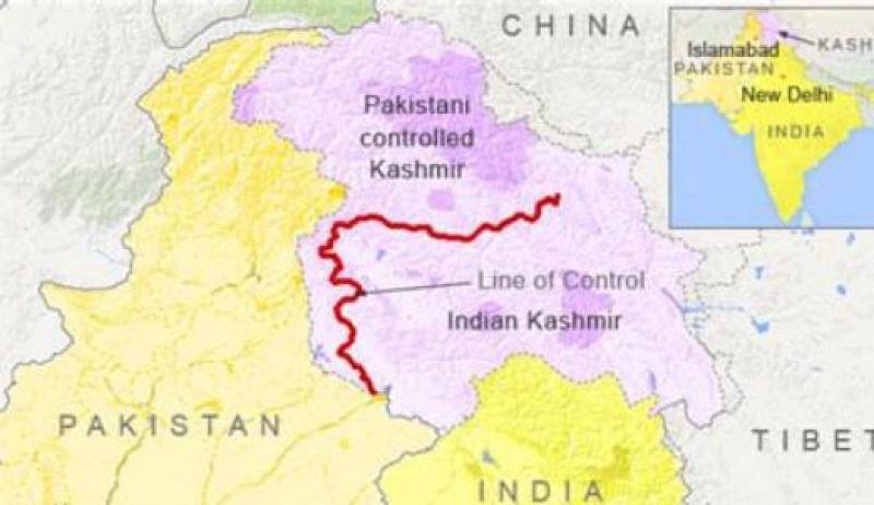 درگیری های زمینی هند و پاکستان
