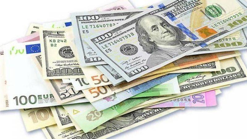 کاهش نرخ ۲۲ ارز بانکی