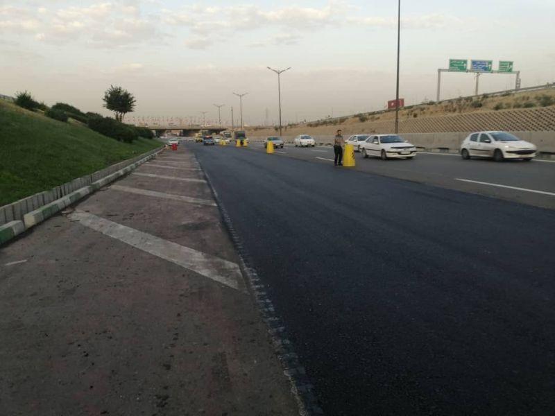 محور بزرگراهی آزادگان در محدوده منطقه21 بهسازی می شود