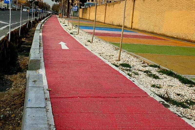 طراحی بیش از ۱۵ کیلومتر مسیر دوچرخه در ۶ ماهه دوم سال ۹۹ در منطقه ۵