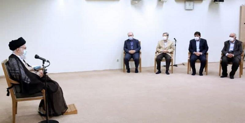 رهبر انقلاب: اگر به توصیهها توجه میشد، این اشکالات در خوزستان نبود/ مردم خوزستان نباید دچار این مشکلات باشند/ دولت بعدی حل مشکلات خوزستان را جدی دنبال کند