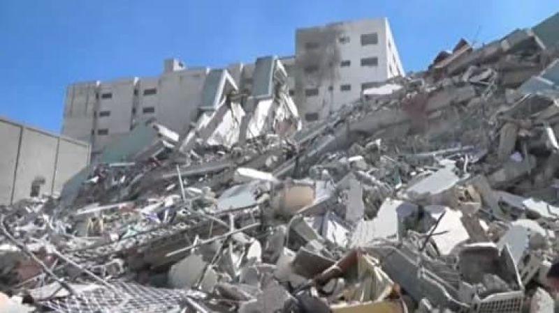 شهادت ۱۵۰ فلسطینی درحملات رژیم صهیونیستی به غزه