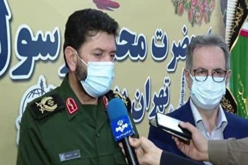 شبانه روزی شدن مراکز واکسیناسیون تهران با تلاش ۲۰۰۰ بسیجی