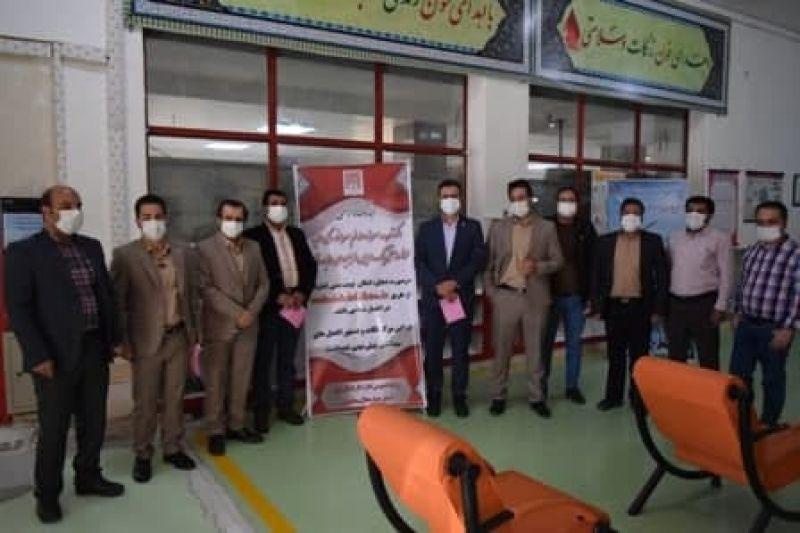 اهداء خون همکاران شیرخشک نوزاد پگاه