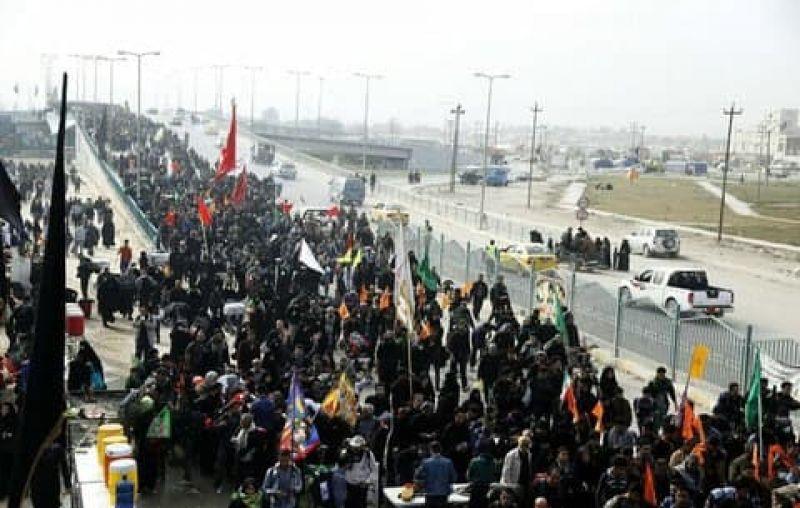 پیاده روی دلدادگان حسینی در پایتخت و سراسر ایران