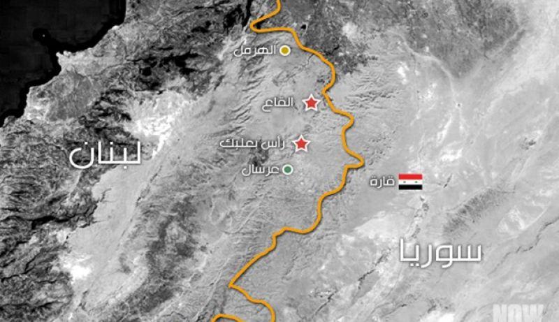 حمله ارتش لبنان به مواضع داعش