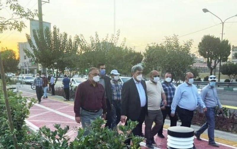 خدمتی دیگر به شهروندان عزیز منطقه 18 تهران