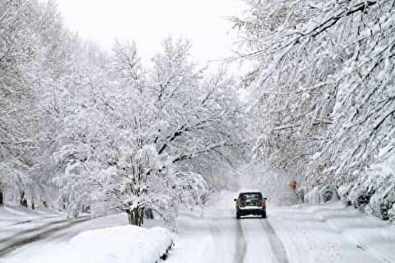 بارش برف و باران در ۲۲ استان کشور