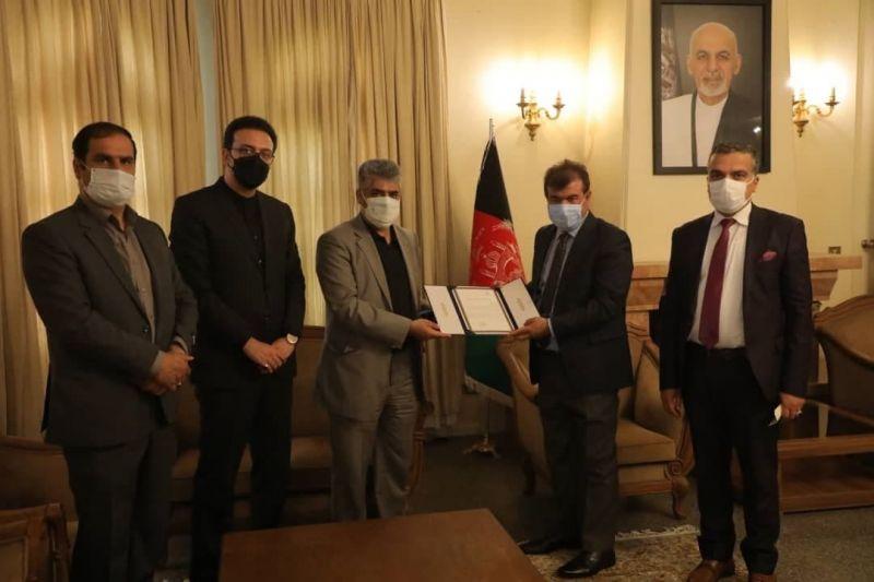 ابلاغ پیام تسلیت شهردار تهران به سفیر جمهوری اسلامی افغانستان، توسط شهردار منطقه 2