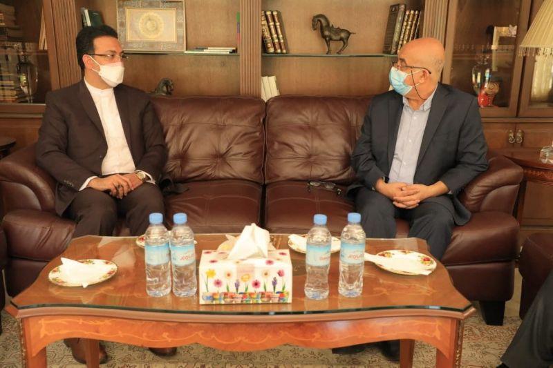 ابلاغ پیام تبریک شهردار تهران به سفرای کشورهای مسلمان  واقع در منطقه2