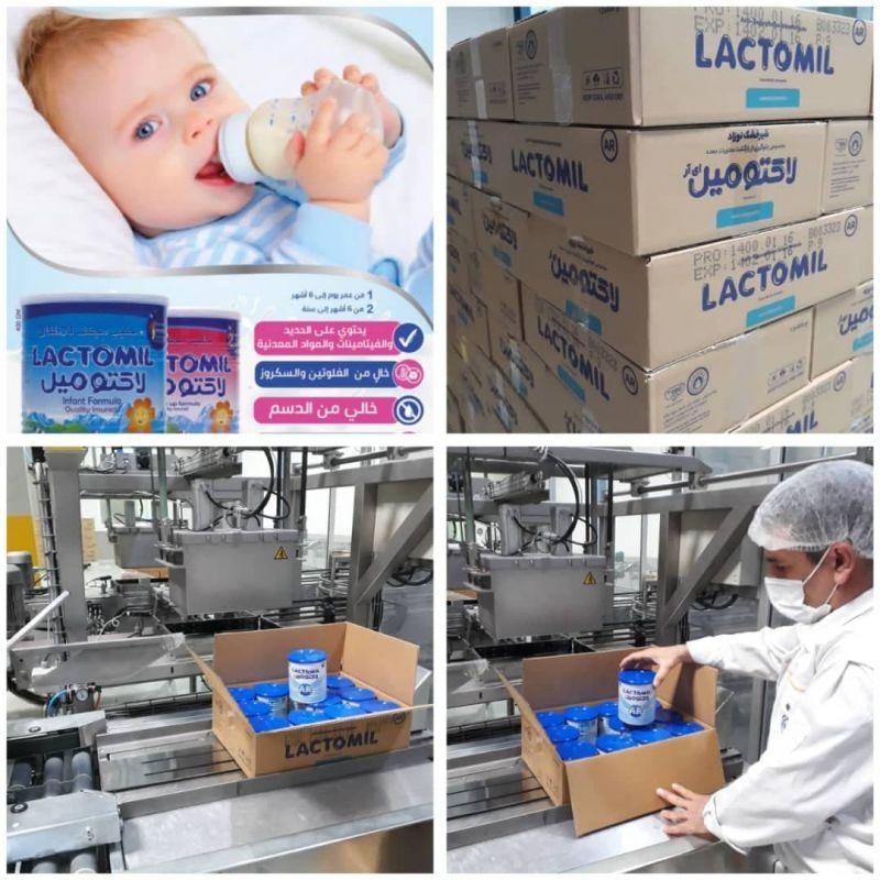 شیرخشک نوزاد پگاه به بازار کویت رسید/ثبت نشان «لاکتومیل» پگاه درپنجمین کشور منطقه