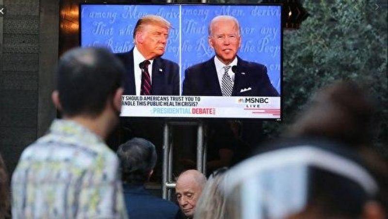 آخرین نمایش تلویزیونی ترامپ و بایدن اجرا شد