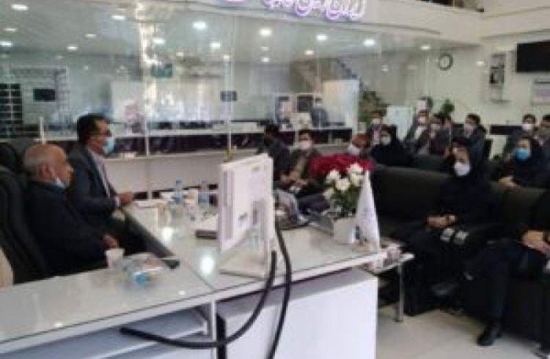 برگزاری جلسه مدیریت شعب بانک ایران زمین استان کرمان