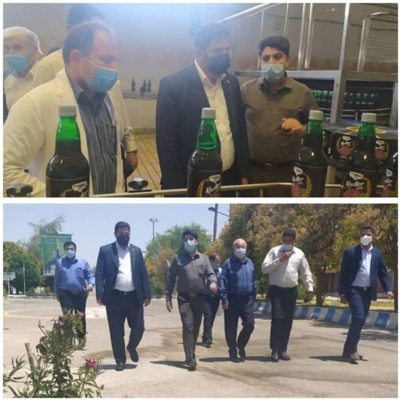 رشد پگاه محسوس است/توليد آبميوه در خوزستان اشتغالزا و تحسین برانگیز است