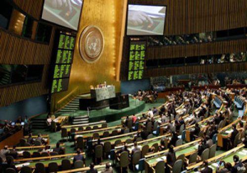 نتانیاهو در نوبت صبح مجمع عمومی سخنرانی میکند