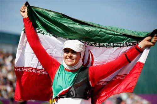زهرا نعمتی پرچمدار کاروان ورزش ایران در المپیک ریو