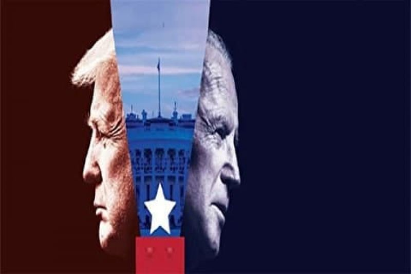 تقابل حامیان بایدن و ترامپ در آمریکا